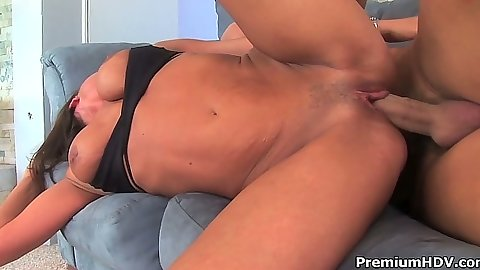 Sideways milf fucking and from behind Sky Taylor
