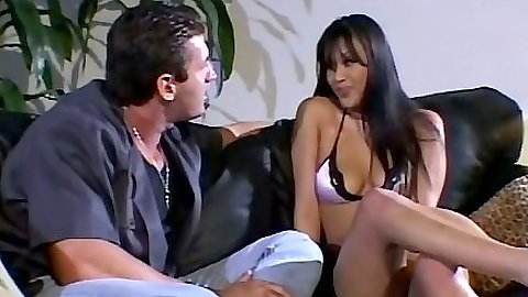 Bikini asian chick Avena Lee self ass fingers and sucks dick