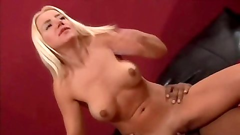 Reverse cowgirl with anal and black fat cock for Barbi