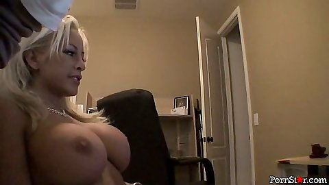 Big tits blonde Savannah Gold shower and bath time softcore