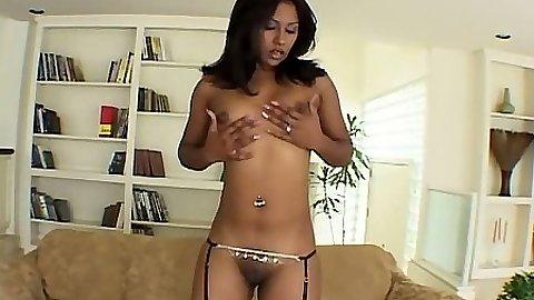 Small tits Jazmin sucks and fucks hardcore way