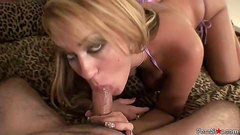 Blowjob in pov with bikini bitch Trina Michaels