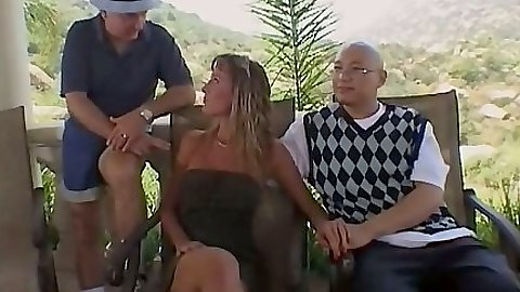 Party up and fuck the wife Julie Faith in a nice mature scene