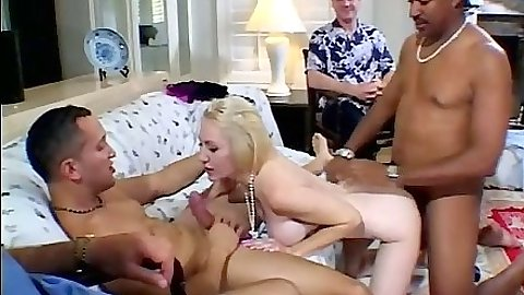Doggy style and blowjob including anal loving with milf blonde Dalny Marga