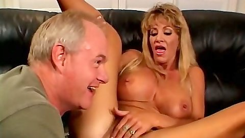 Fingering pussy and ass with milf Michele