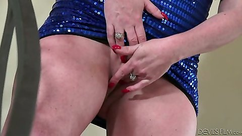 Granny masturbation with sex with various women doing it in one scne