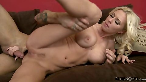 Anal sideways penetration from tight body milf Riley Evans