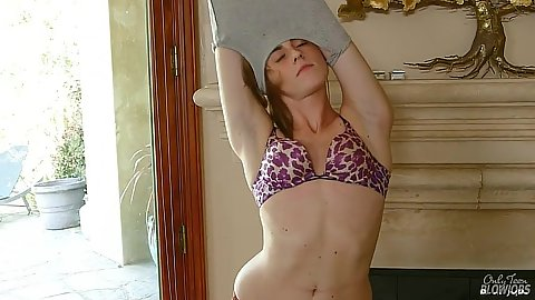 Mia Mae 18 year old undressing and showing flat chest like young girl with masturbation