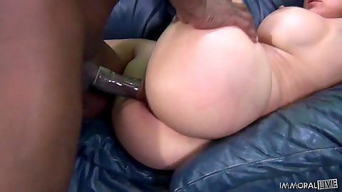 Interracial milf fuck with big boobs Sheila Marie