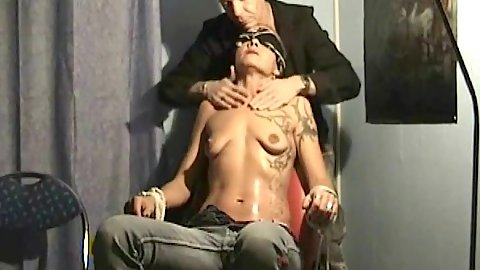 Oiled up gf fetish with milf getting submissive fingering