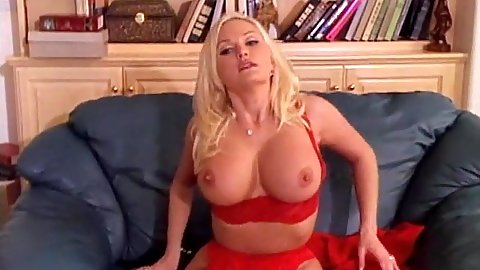 Big tits lingerie Stacy Valentine blowjob and posing