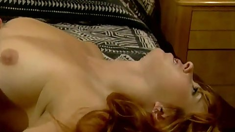 natural tits redhead Krista Maze and her hairy twat hotel fuck