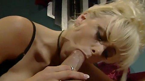 Large tits milf whore Kaitlyn Ashley sucking penis