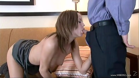 Blowjob with petite young girl Amaleigh
