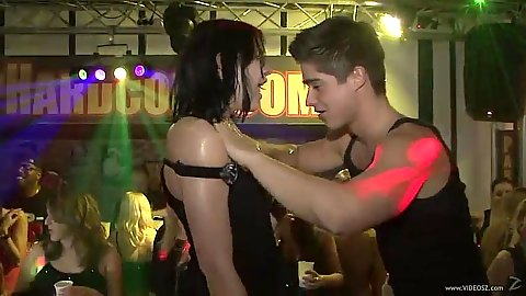 Amateur male stripper and blowjob at college fuck fest