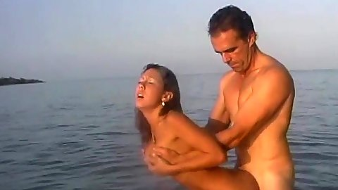 Standing fuck in the water amateur girl sex with Lani