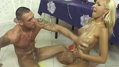 Adriana Russo skinny soup slut fuck