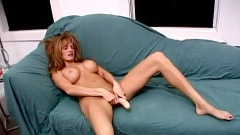 Masturbating with a sex toy with lonely mom Ashley Styles