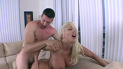 Fucking from behind a perfect shaped milf with round juggs Puma Swede
