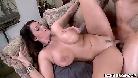 Big tits and somewhat natural fucked hardcore style Alison Tyler