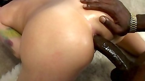 Naughty cougar getting anal from behind in black cock white milf sex Katrina Kraven