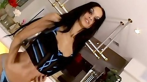Undressing and rear entry hardcore penetration from Tyra Banxxx