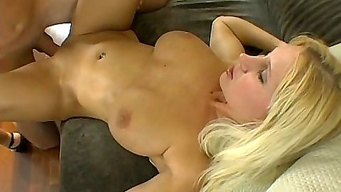 Front and cowgirl penetration with curvy blonde milf Devon Lee
