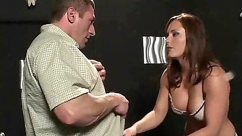Big tits beautiful Katin sucking dick and cunt linked