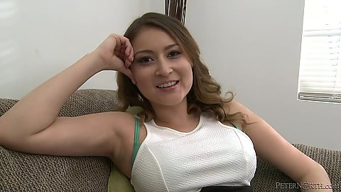 Teen Bliss Dulce takes off panties for a cock suck