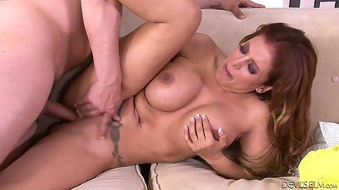 Big tits redhead mother fuck with Nicky Ferrari and Jenna Justine