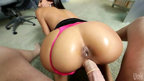 Nice pov pulled aside panties for tight ass Chloe Amour