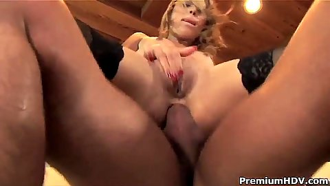 Reverse cowgirl anal cock riding tiny tits whore Kat and Chanel Chavez