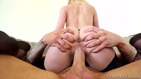Cowgirl ass spreading excited milf sitting Cherie DeVille