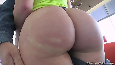 Big ass Maddy O teases with her booty
