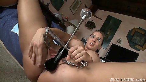 Fetish sex toy some pussy torture