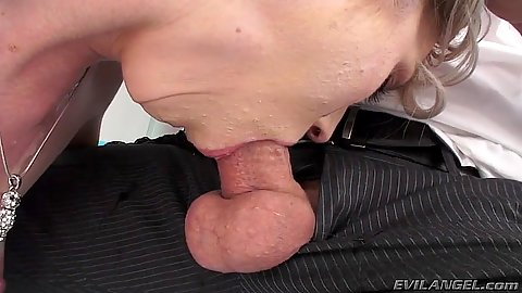 Deep throat and sloppy sucking with ass fingering Maia Davis
