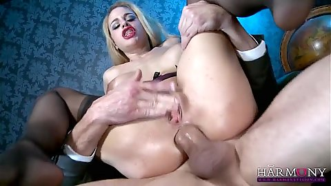 Anal drilling in reverse cowgirl from silly Cathy Heaven