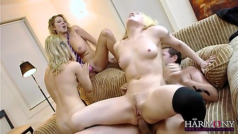 Samantha Bentley and Lola with Ava Dalush and Lexi Lowe in ho holes spared orgy