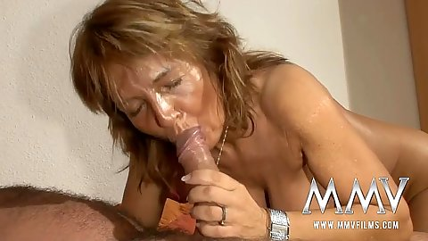 Naughty mature cock sucking Martina E