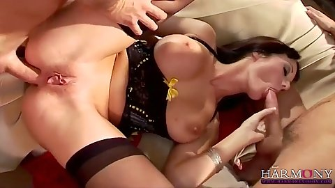 Anal sex with big boobs seductive Melissa Lauren