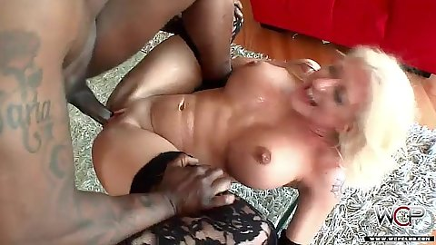Drilling this blonde whore from vegas anal style an deep throat Leya Falcon