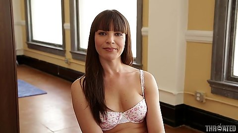 Bras and panties Dana DeArmond gets naked