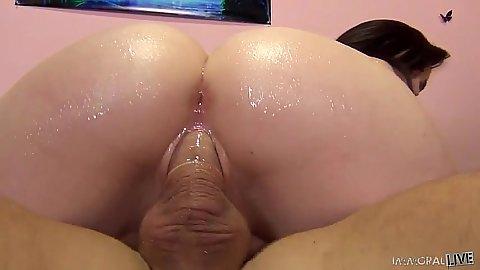 Mary Jane Mayhem and Samantha Bentley hairy vagina fuck with squirting liquids