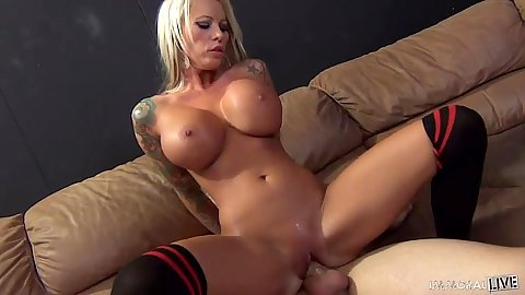 Reverse cowgirl cock sliding nympho Lolly Ink