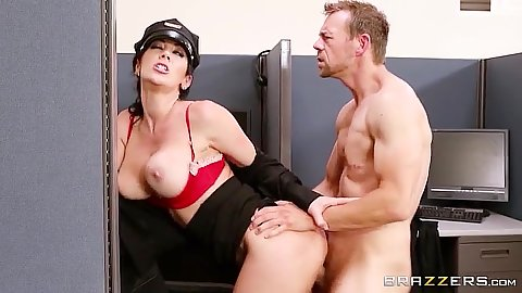 Standing fuck milf is the new campus security Jayden Jaymes
