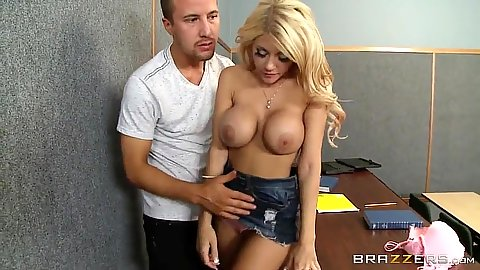 College classroom blowjob with sd2 and Kayla Kayden