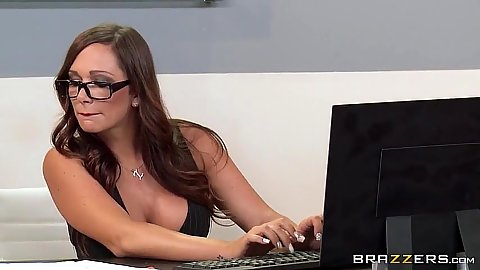 Office whore Destiny Dixon is a busty skank in charge