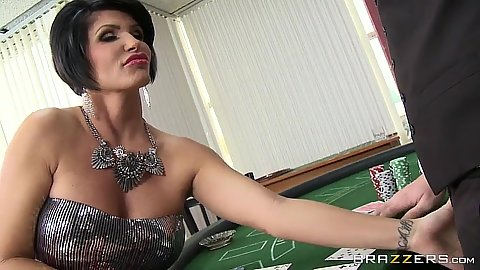 Getty lucky at the casino visit with milf Shay Fox