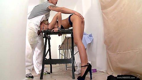Dick sucking high heels Erica Fontes