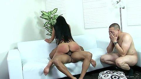 Arousing latina cowgirl interracial in cuckold diaries fuck Mahina Zaltana